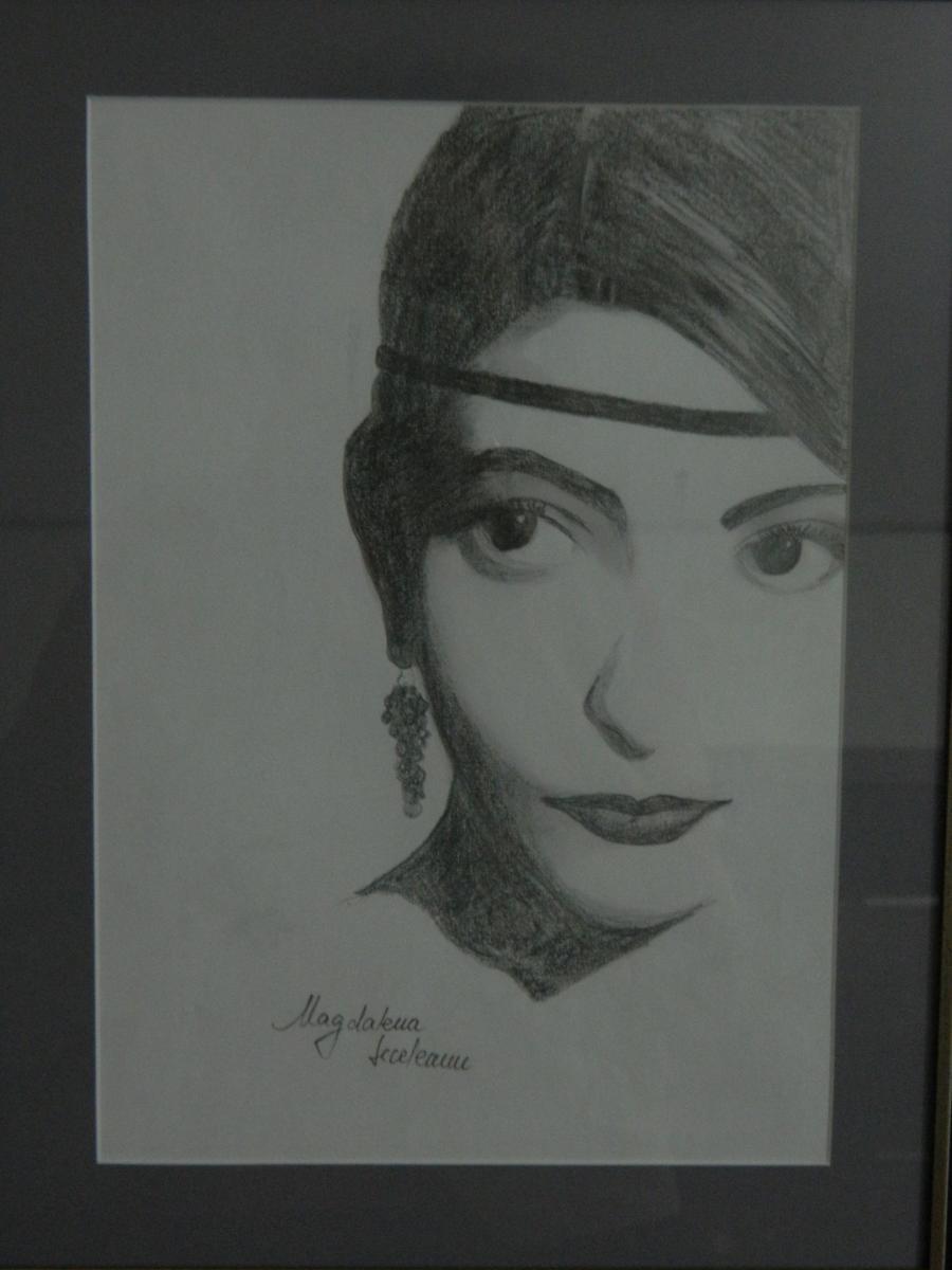 Picturi in creion / carbune Ancuta