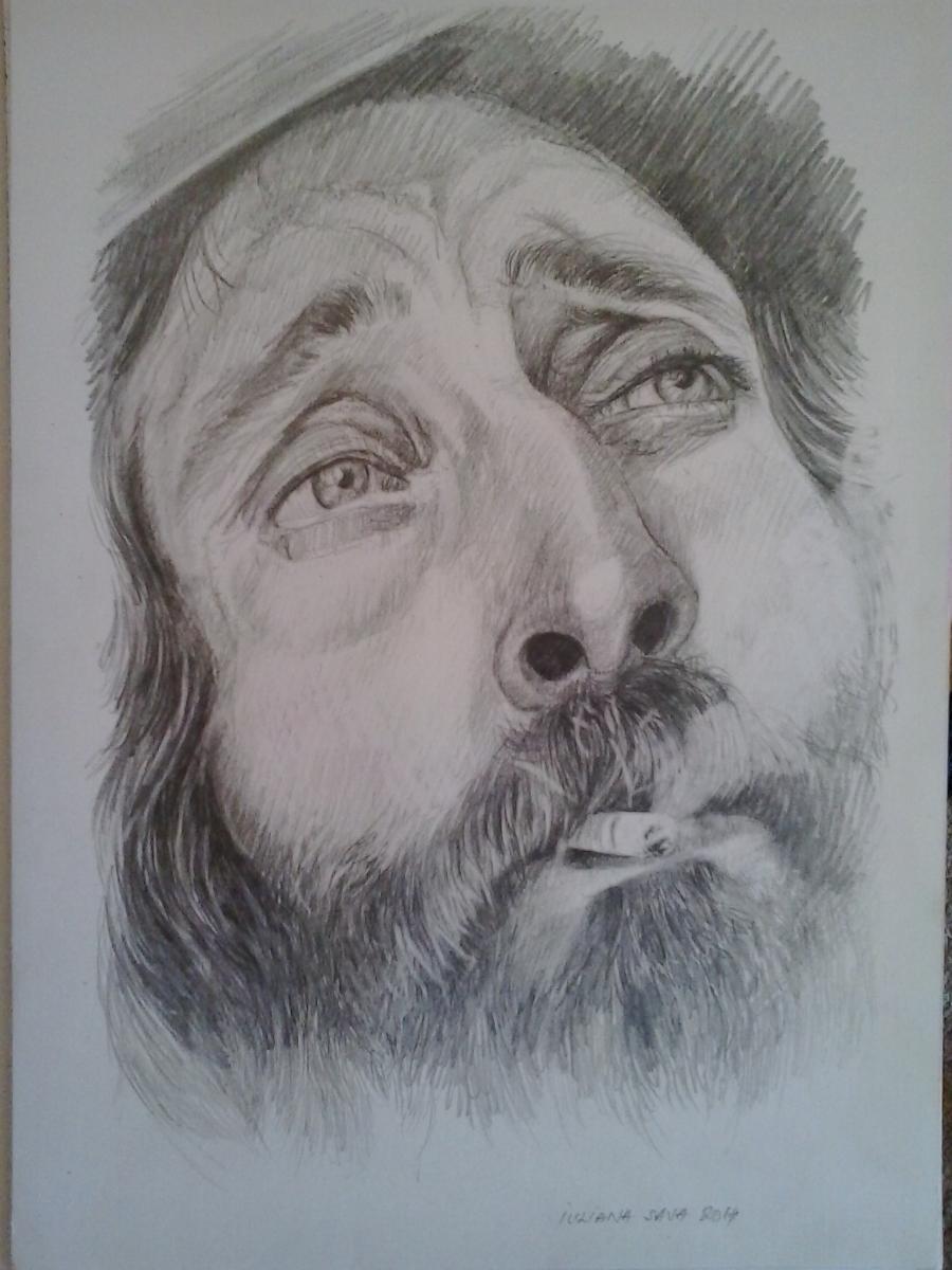 Picturi in creion / carbune Visare