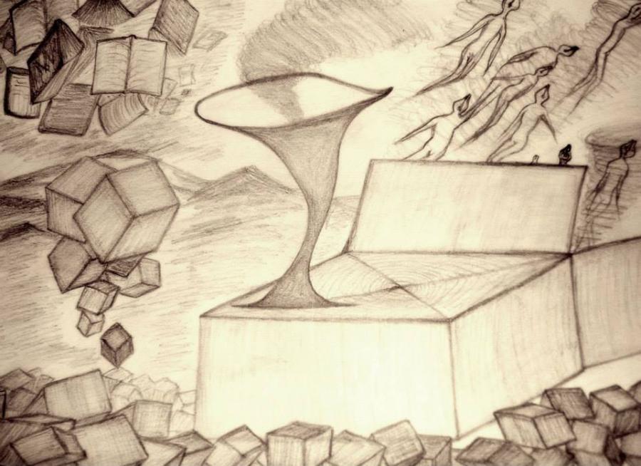 Picturi in creion / carbune Idei risipite