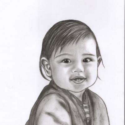 Picturi in creion / carbune David
