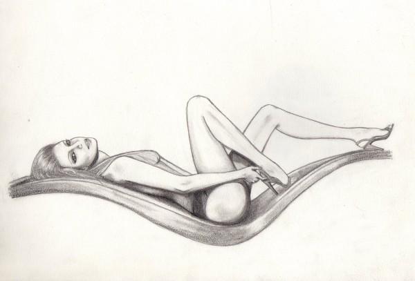 Picturi in creion / carbune Relax2