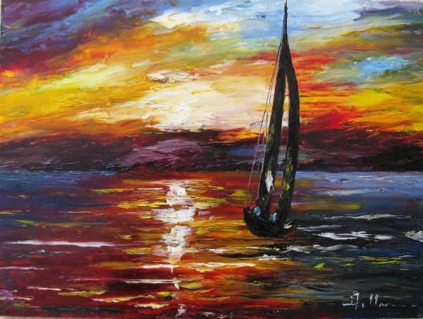 Picturi maritime navale Sailing