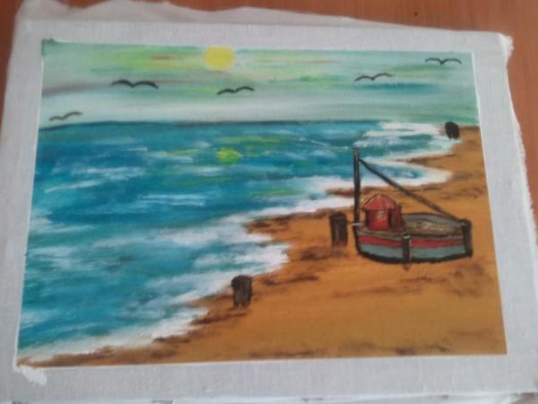 Picturi maritime navale La mal