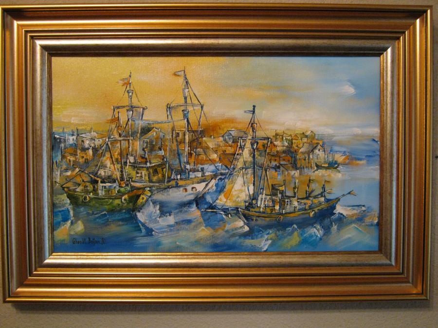 Picturi maritime navale Corabii Vechi pe Mare