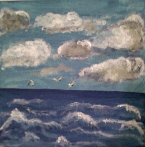 Picturi maritime navale Blue