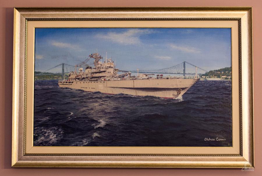 Picturi maritime navale Nava 283 Midia la Bosfor