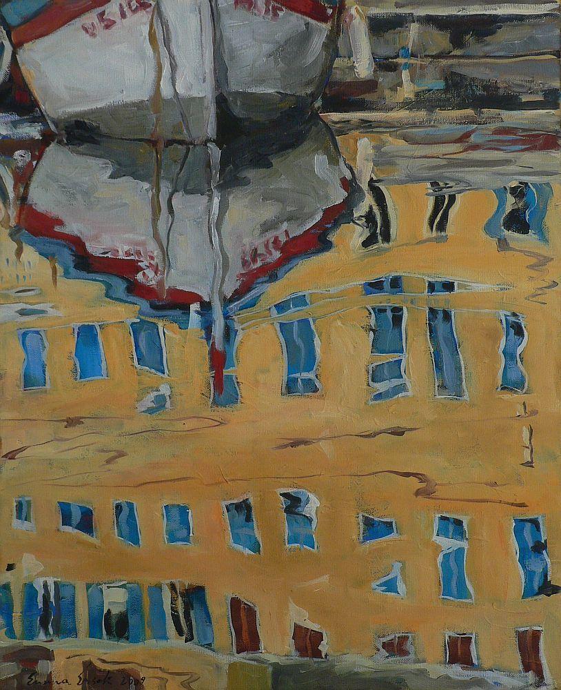 Picturi maritime navale Reflexii