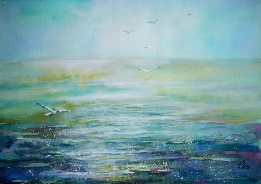 Picturi maritime navale Seascape 3
