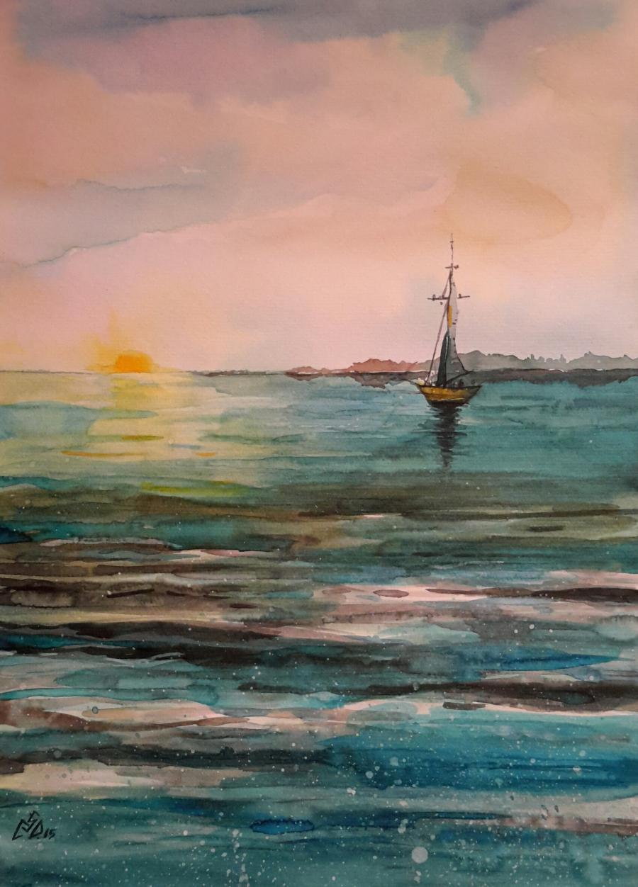 Picturi maritime navale Seascape 6