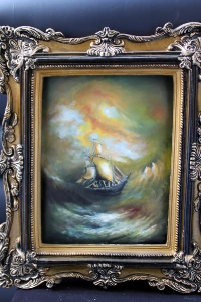 Picturi maritime navale Vis136