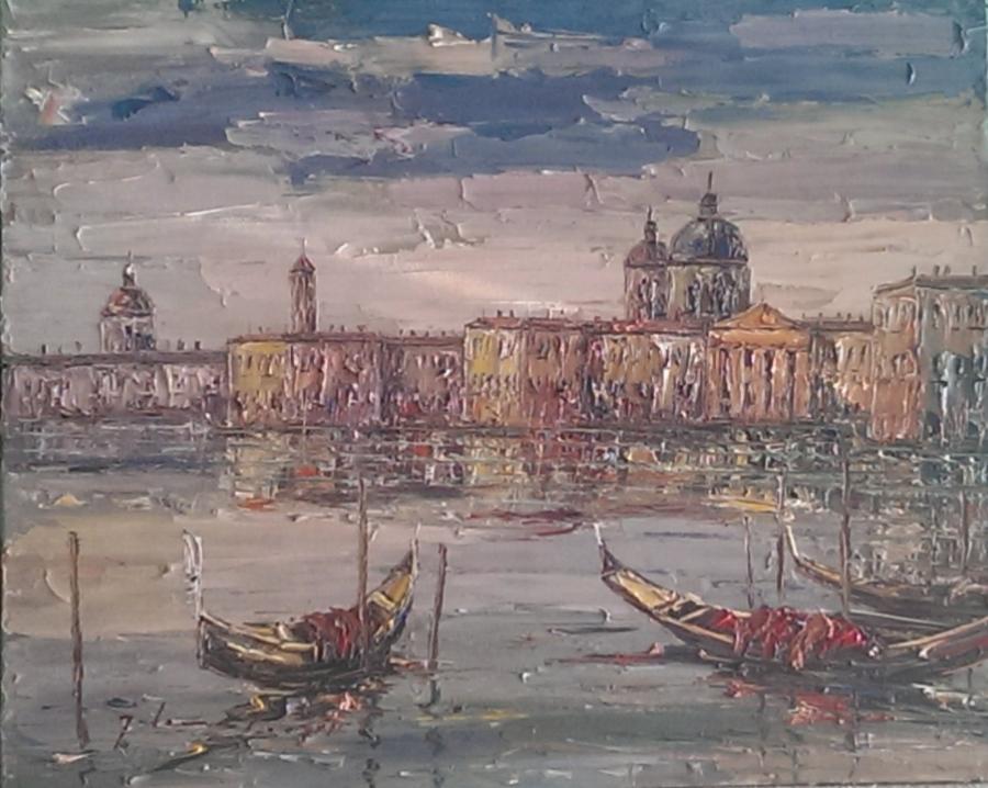 Picturi maritime navale venice