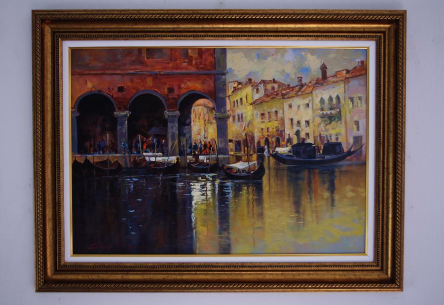 Picturi maritime navale armonii venetiene