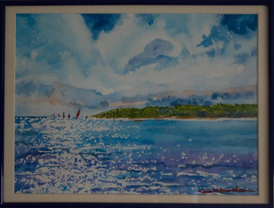 Picturi acuarela Surf