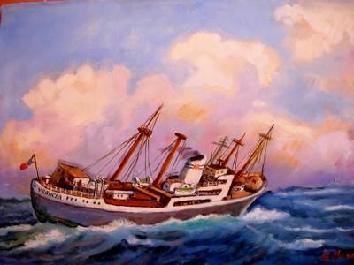 Picturi maritime navale Vrancea