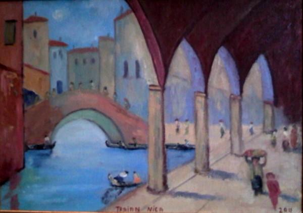 Picturi maritime navale Venetia-puntea suspinelor