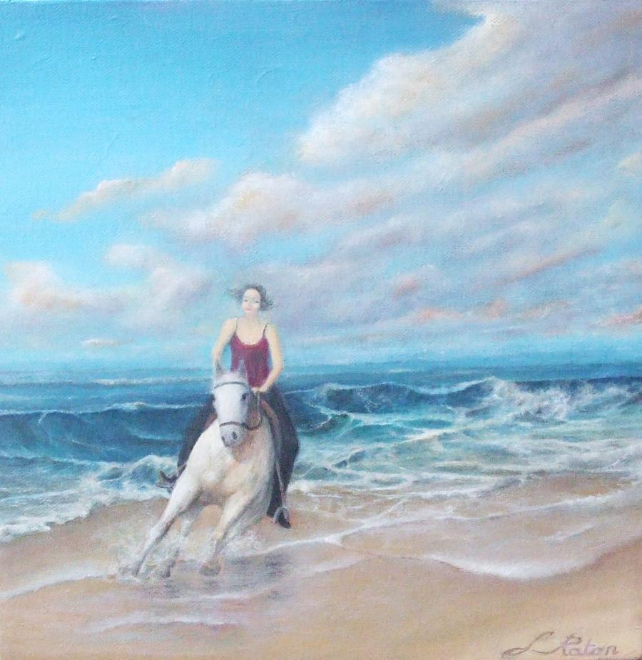 Picturi maritime navale Lipand ecvestra