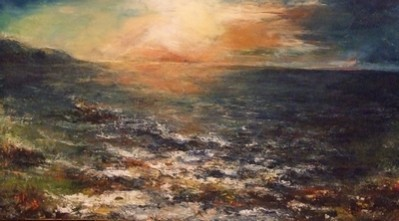 Picturi maritime navale Peisaj marin 1