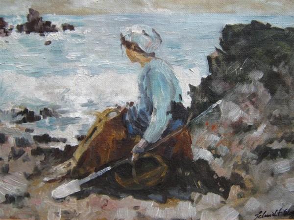 Picturi maritime navale Pescarita la grantville