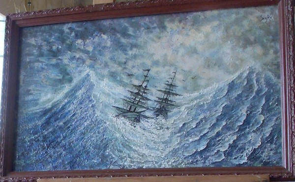Picturi maritime navale Remember aivazovsky - zbucium
