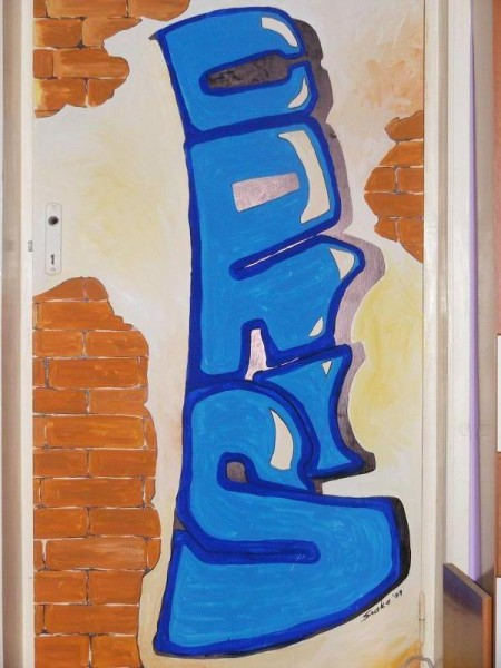 Picturi murale Grafit