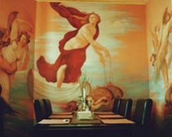 Picturi murale Interpretare triumful galateei