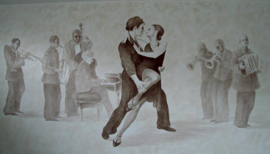 Picturi murale tango