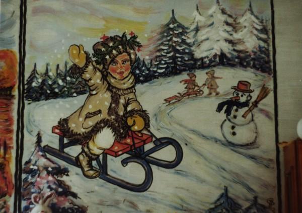 Picturi murale Iarna