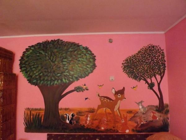 Picturi murale Bambi si prietenii