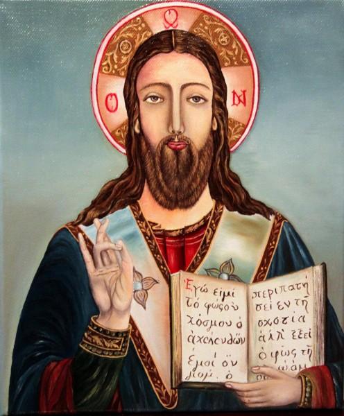 Picturi murale Iisus hristos