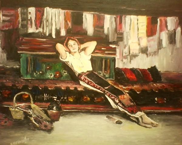 Picturi cu potrete/nuduri Tarancuta grigorescu