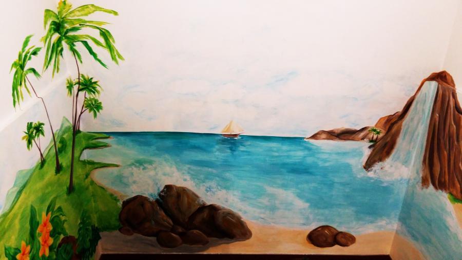 Picturi murale Exotic Shore
