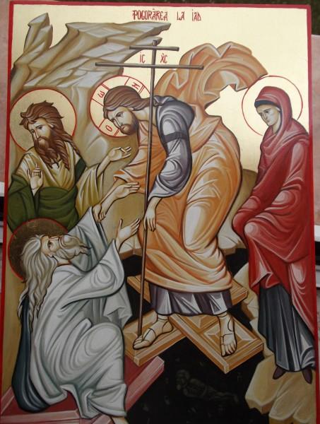 Picturi religioase Pogorarea la iad