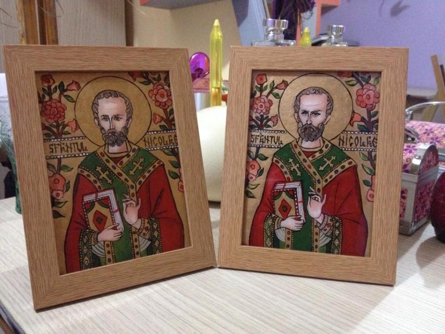 Picturi religioase Sf Nicolae 2