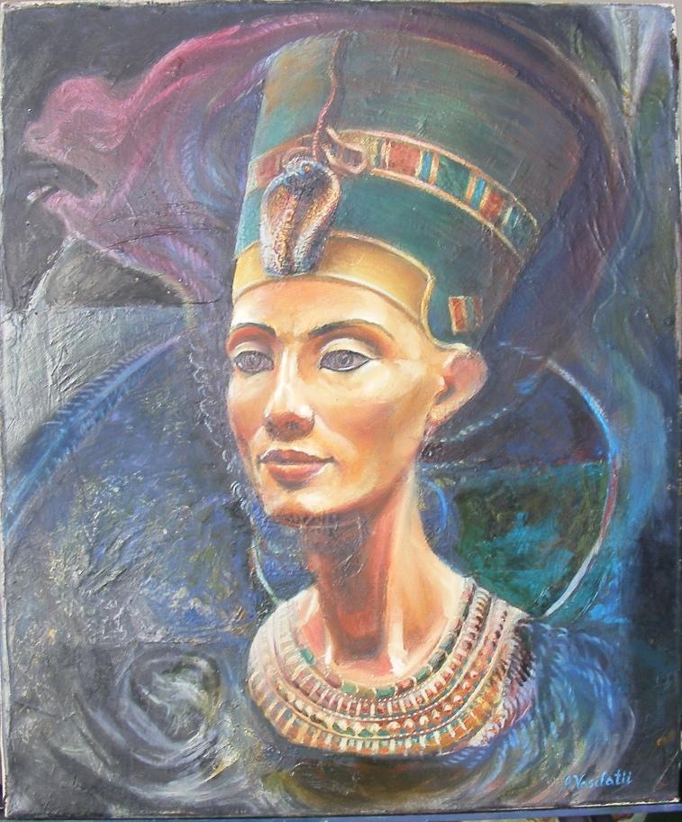 Picturi religioase Nefertiti