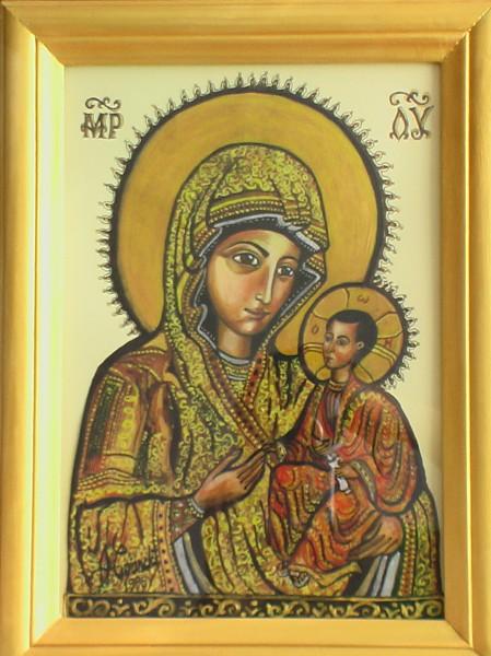 Picturi religioase Maica domnului bizantin
