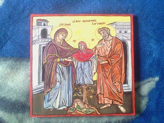 Picturi religioase  SF IOACHIM SI ANA