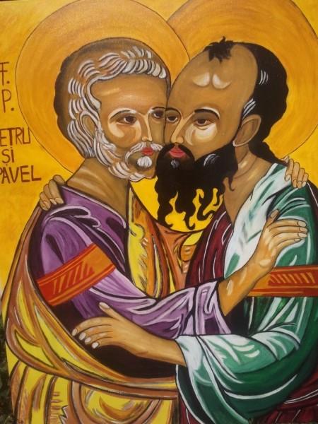Picturi religioase Sf petru si pavel