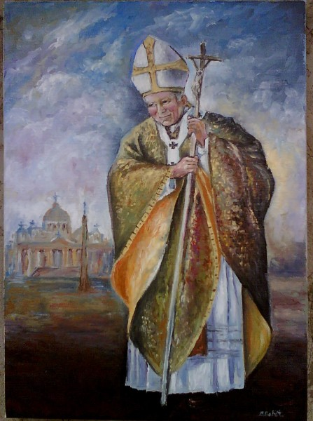 Picturi religioase Papa ioan paul al-ii-lea