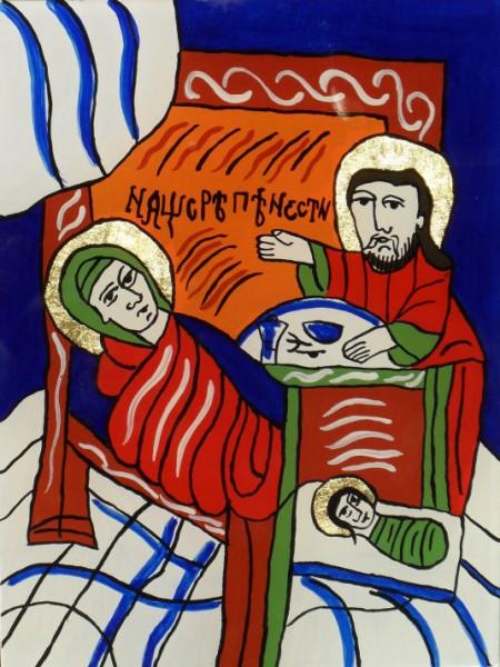 Picturi religioase Nasterea precistei