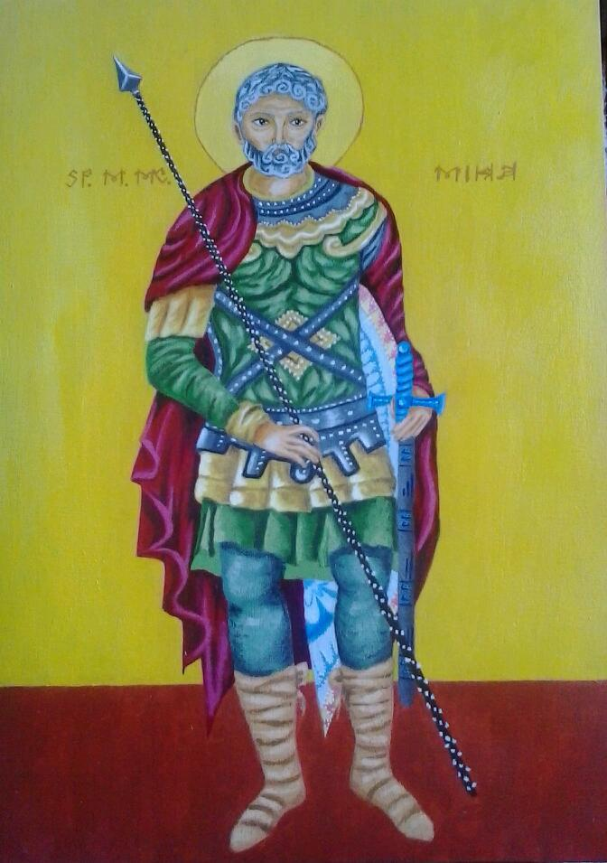 Picturi religioase Sfântul Mina