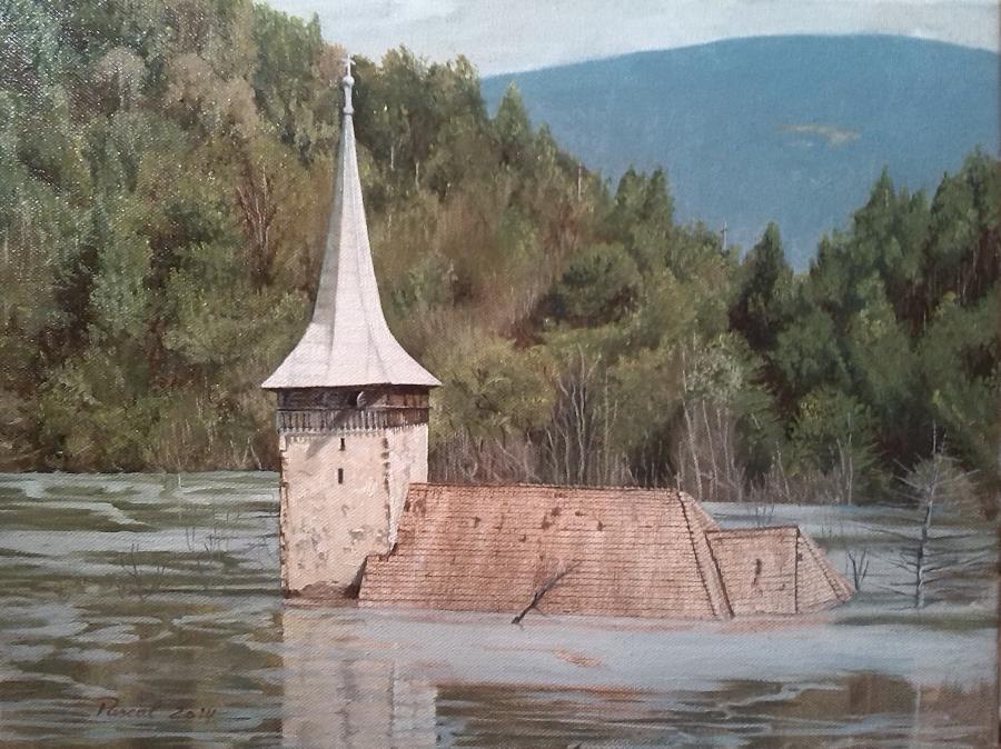 Picturi religioase Biserica Geamana