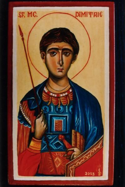 Picturi religioase Sfantul dumitru