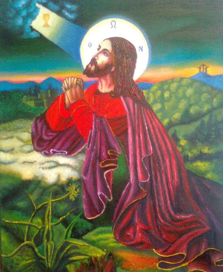 Picturi religioase Rugaciunea in Gradina Ghetsimani