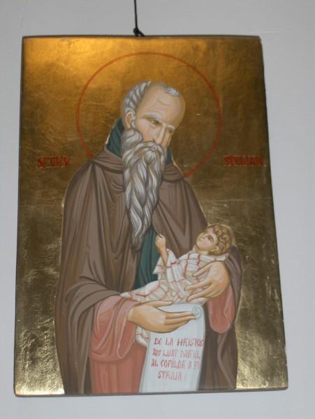 Picturi religioase Icoana sf.stelian ocrotitorul copiilor