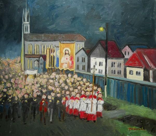 Picturi religioase Procesiune