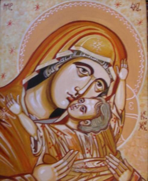 Picturi religioase Maica domnului3