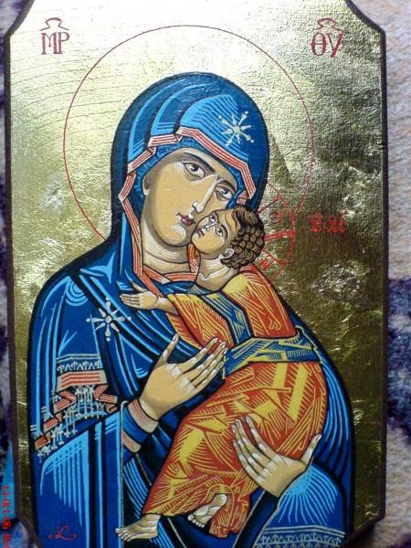 Picturi religioase Dulcea imbratisare