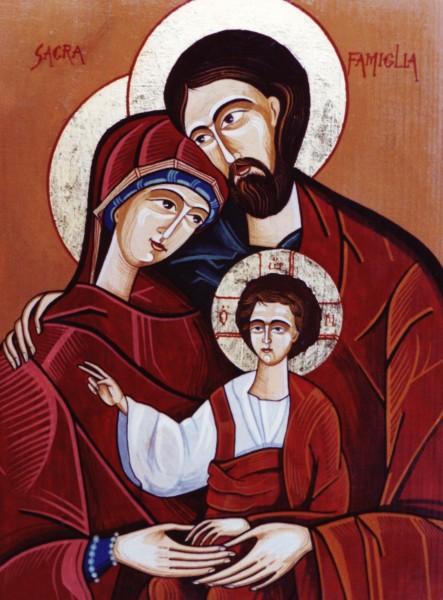 Picturi religioase Familia sacra