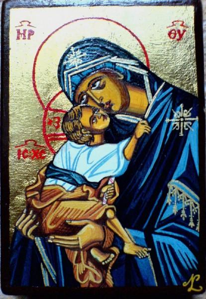 Picturi religioase Maica domnului cu pruncul.