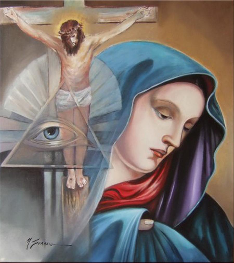 Picturi religioase ei sant mintea
